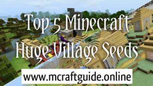 minecraft huge village seeds